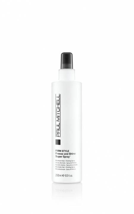 Firm Style Freeze And Shine Spray